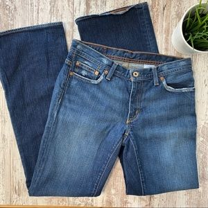 RALPH LAUREN Polo Jeans Kelly Stretch Bootcut 6